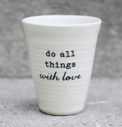 Do all things with love -latte