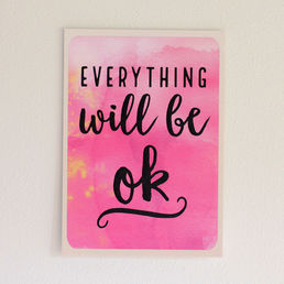 Everything will be ok -postikortti