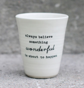 always believe -latte