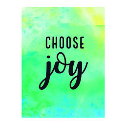 Juliste Choose joy