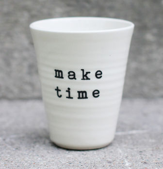 make time -latte